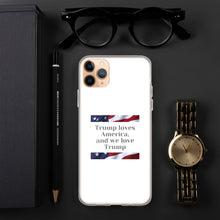 Load image into Gallery viewer, USA, Republican, Patriots, American iPhone Case, Phone Case - More94, Trump, Republican, Conservative, GOP, Patriotic Clothing