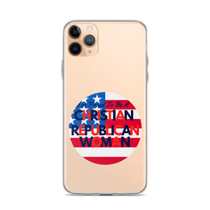 Christian Women, Conservative, GOP, Republican Woman iPhone Case, Phone Cover - More94, Trump, Republican, Conservative, GOP, Patriotic Clothing