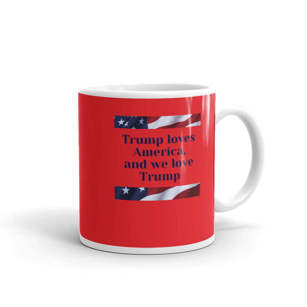 American, Trump, Conservative, GOP Mug - More94, Trump, Republican, Conservative, GOP, Patriotic Clothing, Apparel.