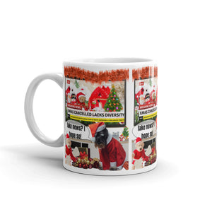 Xmas Cancelled Fake News, Mug