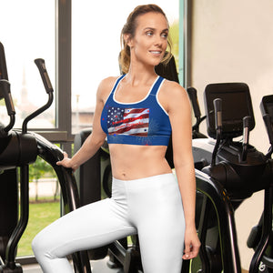 Patriots, Conservative, Republican Sports bra - More94, Trump, Republican, Conservative, GOP, Patriotic Clothing