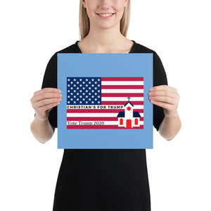 Christian, Conservative, Republican, GOP Poster - More94, Trump, Republican, Conservative, GOP, Patriotic Clothing