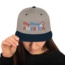 Load image into Gallery viewer, America, Patriots, USA, Cap, Snapback Hat - More94, Trump, Republican, Conservative, GOP, Patriotic Clothing