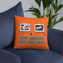 Load image into Gallery viewer, Patriots, Conservative, Republican Pillow - More94, Trump, Republican, Conservative, GOP, Patriotic Clothing