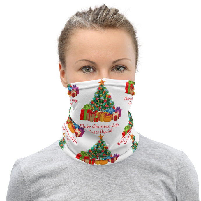 Make Christmas Gifts Great Again, Face And Neck Gaiter