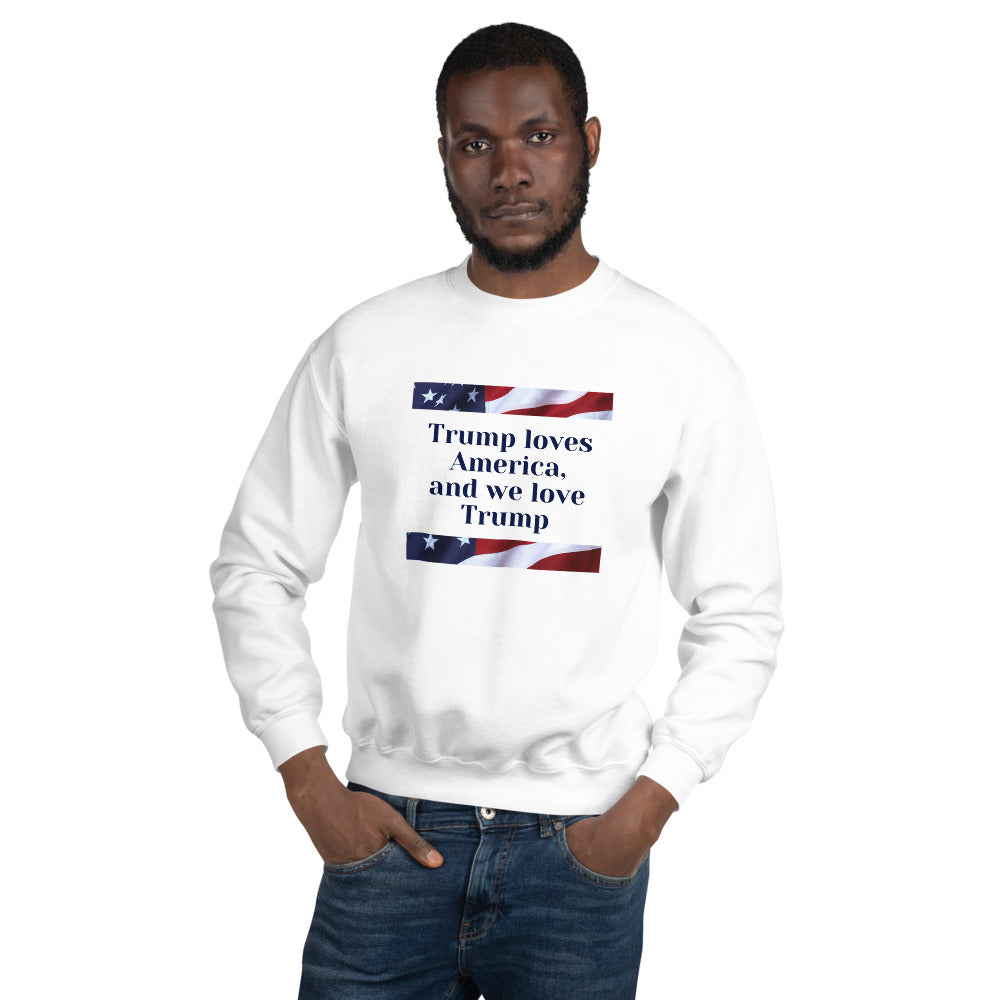 Patriots, Conservative, Republican Couples Sweatshirt - More94, Trump, Republican, Conservative, GOP, Patriotic Clothing