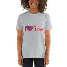 Load image into Gallery viewer, USA, Patriot, America, Womens T-Shirt, Ladies Tee - More94, Trump, Republican, Conservative, GOP, Patriotic Clothing