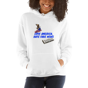 USA, Republican, Patriots, Pro America Womens Hoodie - More94, Trump, Republican, Conservative, GOP, Patriotic Clothing, Apparel.