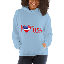 Load image into Gallery viewer, USA, Patriot, America, Womens Hoodie - More94, Trump, Republican, Conservative, GOP, Patriotic Clothing