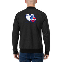 Load image into Gallery viewer, Bomber Jacket - More94, Trump, Republican, Conservative, GOP, Patriotic Clothing, Apparel.