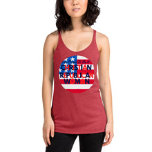 Load image into Gallery viewer, Patriots, Conservative, Republican Ladies Tank, Women's Racerback Shirt, T-Shirt - More94, Trump, Republican, Conservative, GOP, Patriotic Clothing