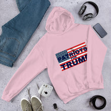 Load image into Gallery viewer, Patriot, America, USA, Womens Hoodie, Ladies Hoodie - More94, Trump, Republican, Conservative, GOP, Patriotic Clothing