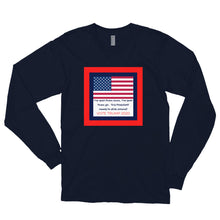 Load image into Gallery viewer, Patriots, Conservative Mans Shirt, USA Mens Long sleeve t-shirt - More94, Trump, Republican, Conservative, GOP, Patriotic Clothing