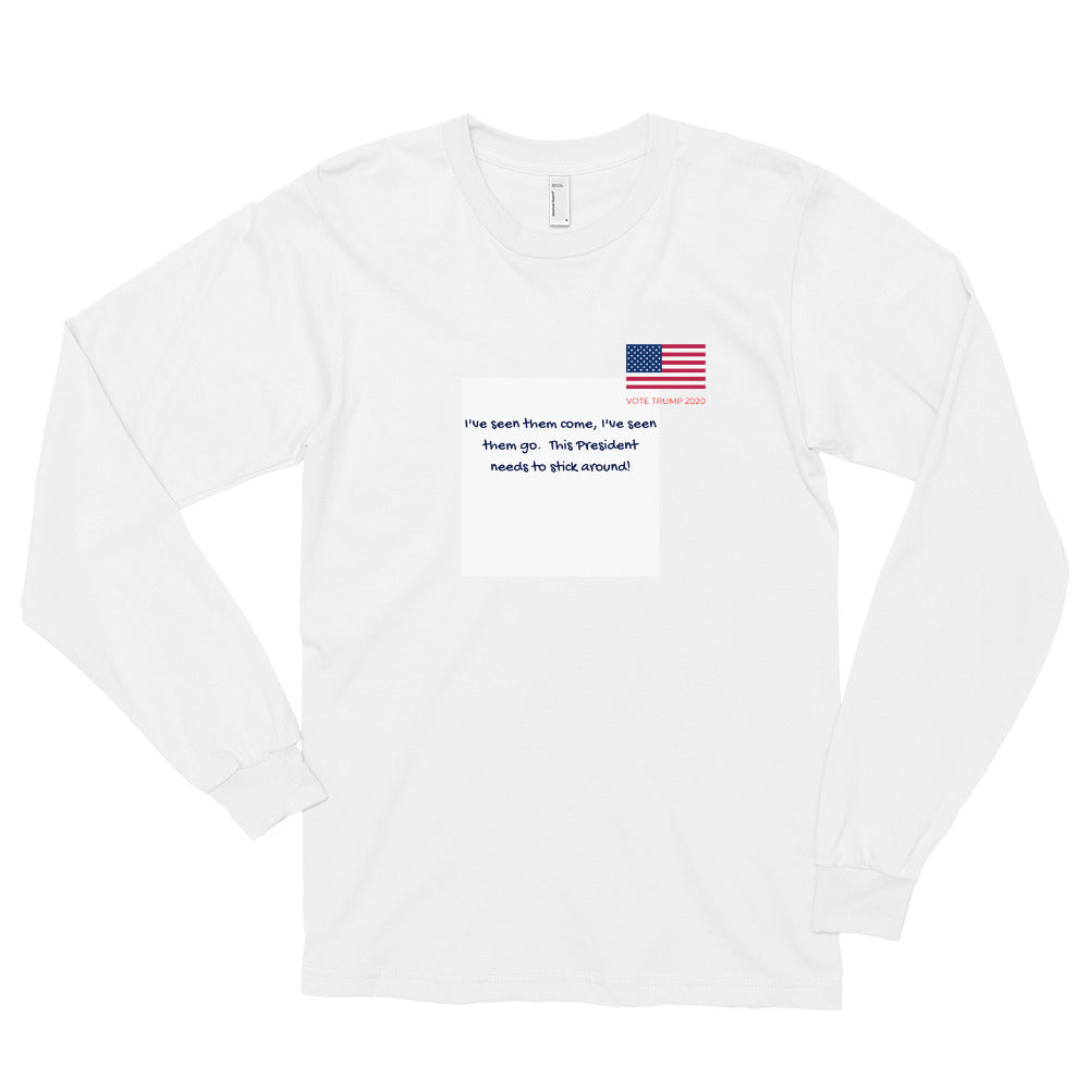 Trump, Patriots, Conservative Mens Shirt, Long sleeve t-shirt - More94, Trump, Republican, Conservative, GOP, Patriotic Clothing