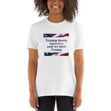 Load image into Gallery viewer, Conservative, Republican, GOP Ladies T Shirt, T-Shirt, Shirt - More94, Trump, Republican, Conservative, GOP, Patriotic Clothing