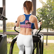 Load image into Gallery viewer, Trump, Republican, GOP Sports bra - More94, Trump, Republican, Conservative, GOP, Patriotic Clothing