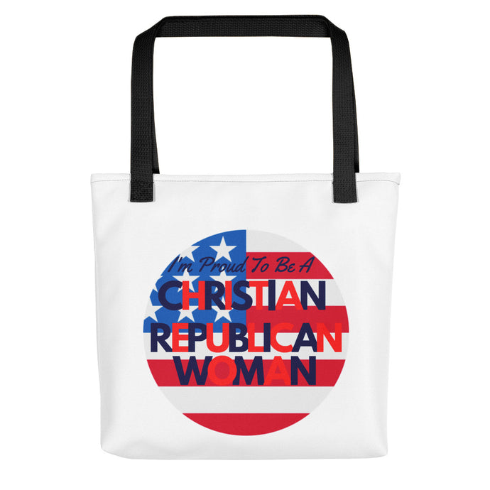 Christian, Republican, American Tote bag - More94, Trump, Republican, Conservative, GOP, Patriotic Clothing