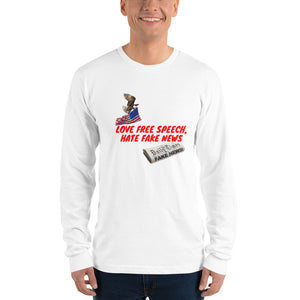 USA, Republican, Patriots, American Shirt, Men's Long Sleeve Tee - More94, Trump, Republican, Conservative, GOP, Patriotic Clothing, Apparel.