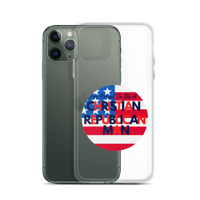 Christian Man, Republican, Conservative, GOP Christian iPhone Case, Phone Case - More94, Trump, Republican, Conservative, GOP, Patriotic Clothing