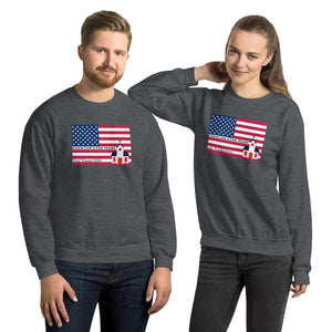 Republican, Christian, American Couples Sweatshirt, His and Hers - More94, Trump, Republican, Conservative, GOP, Patriotic Clothing