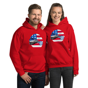 Patriots, Conservative, Republican, GOP Couples, Womens, Mens Hoodie - More94, Trump, Republican, Conservative, GOP, Patriotic Clothing