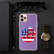 Load image into Gallery viewer, Christian Woman, GOP, Conservative, Republican Women iPhone Case, Phone Case - More94, Trump, Republican, Conservative, GOP, Patriotic Clothing