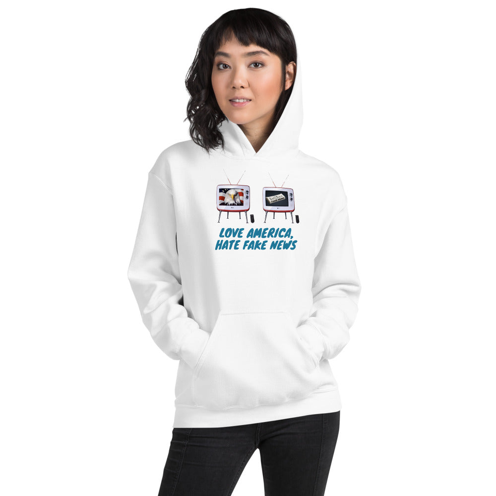 Trump, Patriots, GOP, Conservative Womens Hoodie - More94, Trump, Republican, Conservative, GOP, Patriot Apparel
