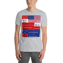 Load image into Gallery viewer, USA, Republican, Patriots, American Mens Tee, Short-Sleeve T-Shirt - More94, Trump, Republican, Conservative, GOP, Patriotic Clothing