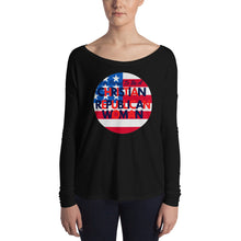 Load image into Gallery viewer, Christian, Republican Woman T-Shirt, Long Sleeve Shirt - More94, Trump, Republican, Conservative, GOP, Patriotic Clothing