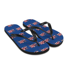 Load image into Gallery viewer, Trump, Republican, GOP Flip Flops, Slippers - More94, Trump, Republican, Conservative, GOP, Patriotic Clothing