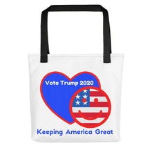 Load image into Gallery viewer, GOP, Patriots, American, USA Tote bag - More94, Trump, Republican, Conservative, GOP, Patriotic Clothing