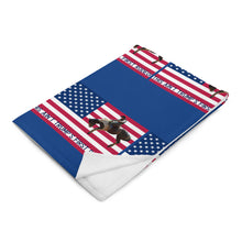 Load image into Gallery viewer, Trump Patriots, Conservative Throw Blanket - More94, Trump, Republican, Conservative, GOP, Patriotic Clothing