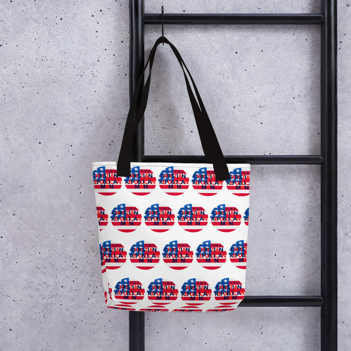 Republican, Christian, American Tote bag - More94, Trump, Republican, Conservative, GOP, Patriotic Clothing