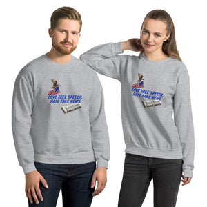 Patriots, Conservative, Republican Couples Sweatshirt, Unisex - More94, Trump, Republican, Conservative, GOP, Patriotic Clothing, Apparel.