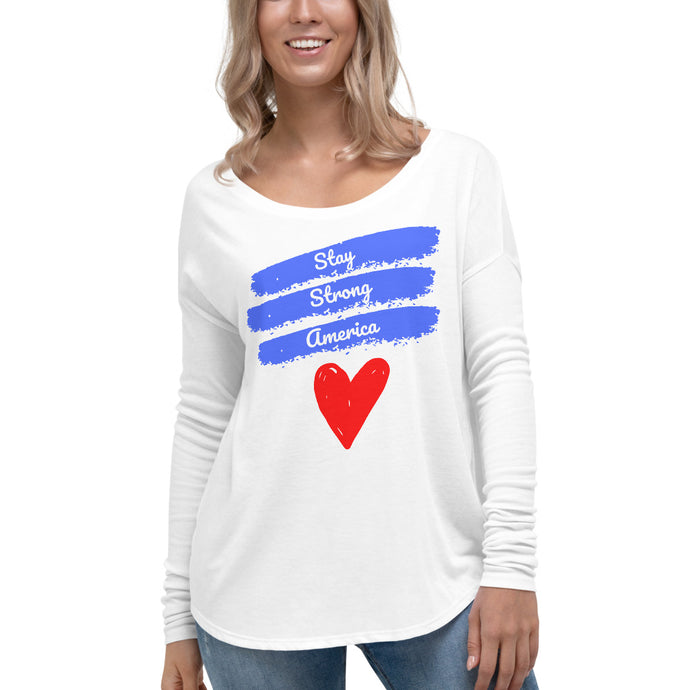 America, Patriots, USA, Womens T-Shirt, Ladies Long Sleeve Shirt - More94, Trump, Republican, Conservative, GOP, Patriotic Clothing