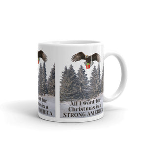 All I Want For Christmas Is A Strong America, Mug