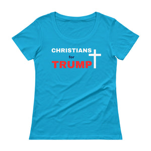 Christian, Trump, Patriot, America, Republican, Womens T-Shirt - More94, Trump, Republican, Conservative, GOP, Patriotic Clothing