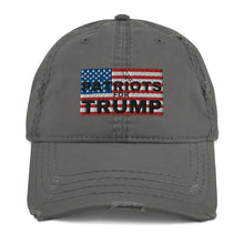 Load image into Gallery viewer, Conservative, Trump, America, Patriots, Hat, Distressed Dad Hat - More94, Trump, Republican, Conservative, GOP, Patriotic Clothing