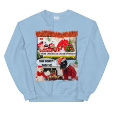 Load image into Gallery viewer, Xmas Cancelled Fake News, Unisex Sweatshirt