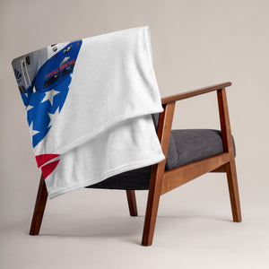 Trump, Patriots, Conservative Throw Blanket - More94, Trump, Republican, Conservative, GOP, Patriotic Clothing