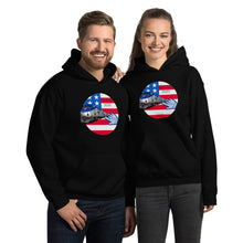 Load image into Gallery viewer, Patriots, Conservative, Republican, GOP Couples, Womens, Mens Hoodie - More94, Trump, Republican, Conservative, GOP, Patriotic Clothing, Apparel.
