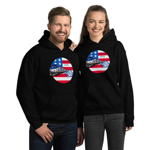 Patriots, Conservative, Republican, GOP Couples, Womens, Mens Hoodie - More94, Trump, Republican, Conservative, GOP, Patriotic Clothing, Apparel.