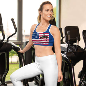 Trump, Republican, GOP Sports bra - More94, Trump, Republican, Conservative, GOP, Patriotic Clothing