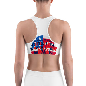 GOP, Patriots, American Sports bra - More94, Trump, Republican, Conservative, GOP, Patriotic Clothing