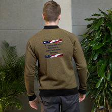 Load image into Gallery viewer, Bomber Jacket - More94, Trump, Republican, Conservative, GOP, Patriotic Clothing