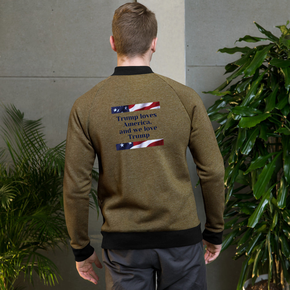 Bomber Jacket - More94, Trump, Republican, Conservative, GOP, Patriotic Clothing