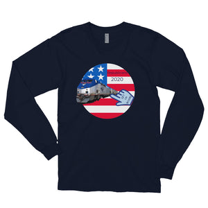Patriots, Conservative, Republican Mens Shirt, Mens Long sleeve t-shirt - More94, Trump, Republican, Conservative, GOP, Patriot Apparel