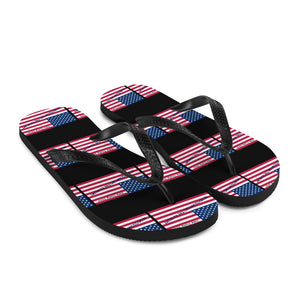 Trump, Patriots, Conservative Flip Flops, Slippers - More94, Trump, Republican, Conservative, GOP, Patriotic Clothing