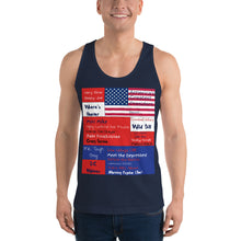 Load image into Gallery viewer, GOP, Patriotic, American Mens Shirt, Tank Top - More94, Trump, Republican, Conservative, GOP, Patriot Apparel