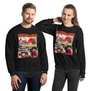 Xmas Cancelled Fake News, Unisex Sweatshirt